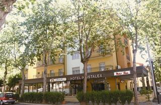 Italy, Central Adriatic Riviera, Cesenatico, Hotel Kristalex