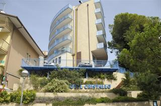 Italy, Northern Adriatic Riviera, Lignano Sabbiadoro, Hotel Cristallo