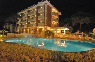 Italy, Northern Adriatic Riviera, Lignano Sabbiadoro, Hotel Ambassador Meublé