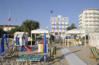Italy, Central Adriatic Riviera, Senigallia, Hotel Ambasciatori