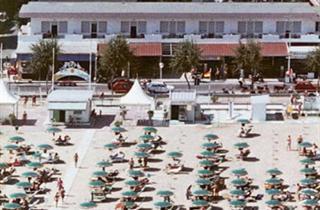Italy, Central Adriatic Riviera, Rimini, Hotel Arabesco
