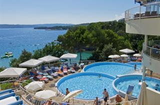 Croatia, Kvarner Gulf, Krk, Valamar Koralj Romantic Hotel