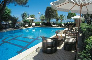 Italy, Central Adriatic Riviera, Martinsicuro, Hotel Corallo