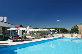 Italy, Northern Adriatic Riviera, Bibione, Hotel Jasminum