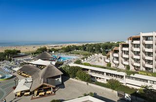 Italy, Northern Adriatic Riviera, Bibione, Hotel & Spa Savoy Beach