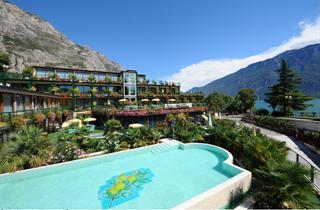 Italy, Lake Garda, Limone sul Garda, Hotel Alexander