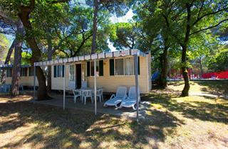 Italy, Northern Adriatic Riviera, Belvedere, Camping Village Belvedere Pineta