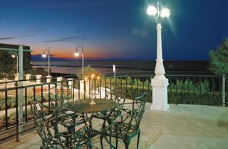 Italy, Central Adriatic Riviera, Gabicce Mare, Grand Hotel Michelacci