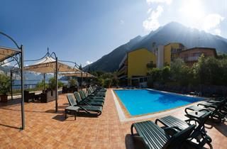 Italy, Lake Garda, Malcesine, Hotel Sole