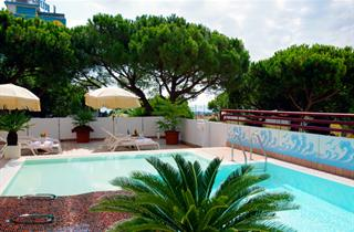 Italy, Northern Adriatic Riviera, Jesolo, Hotel Coppe