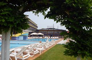 Italy, Northern Adriatic Riviera, Lignano Sabbiadoro, Hotel Marina Uno