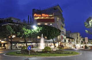 Italy, Northern Adriatic Riviera, Lignano Sabbiadoro, Hotel Pasha