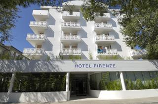 Italy, Northern Adriatic Riviera, Bibione, Hotel Firenze