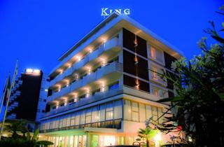 Italy, Central Adriatic Riviera, Cervia, Hotel King