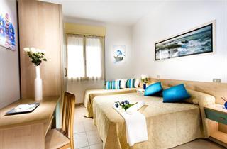 Italy, Central Adriatic Riviera, Cesenatico, Hotel Ben Hur