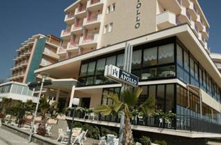 Italy, Central Adriatic Riviera, Cervia, Hotel Apollo Beach