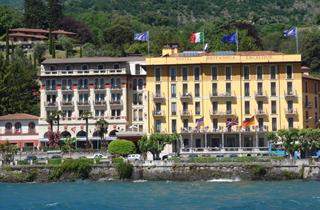 Italy, Lake Como, Griante, Hotel Britannia