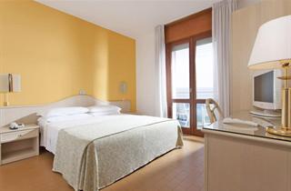 Italy, Northern Adriatic Riviera, Jesolo, Hotel Croce di Malta