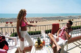 Italy, Northern Adriatic Riviera, Caorle, Hotel Columbus