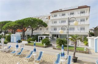 Italy, Northern Adriatic Riviera, Jesolo, Hotel Sanremo