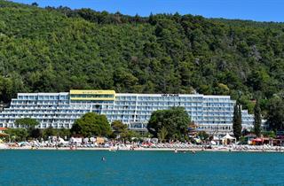 Croatia, Istria, Rabac, Hotel Mimosa
