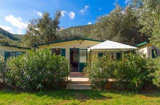 Croatia, Istria, Rabac, Mobilhomes Camping Oliva