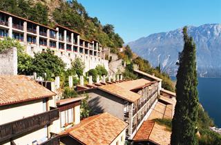 Italy, Lake Garda, Limone sul Garda, Hotel La Limonaia