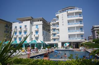 Italy, Northern Adriatic Riviera, Jesolo, Hotel Heron