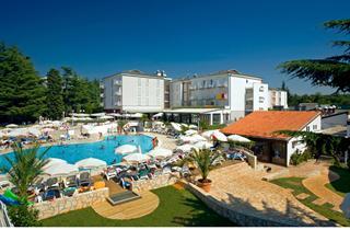 Croatia, Istria, Porec, Residence Pinia Residence