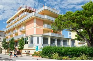 Italy, Northern Adriatic Riviera, Bibione, Hotel Ambassador