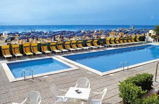 Italy, Northern Adriatic Riviera, Jesolo, Hotel London