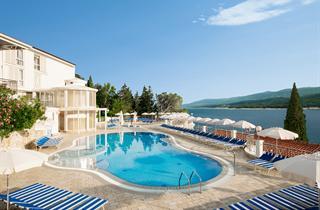 Croatia, Istria, Rabac, Hotel & Casa Valamar Sanfior