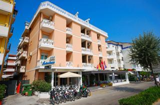 Italy, Northern Adriatic Riviera, Caorle, Hotel Antoniana