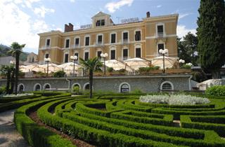 Croatia, Istria, Opatija, Hotel Opatija