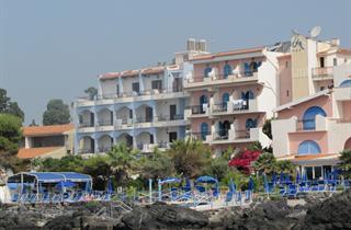Italy, Sicily, Giardini-Naxos, Hotel Nike