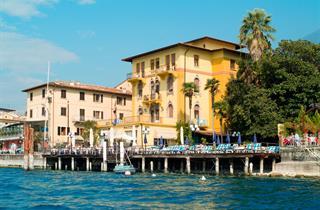 Italy, Lake Garda, Malcesine, Hotel Malcesine