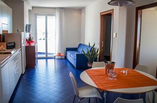 Italy, Central Adriatic Riviera, Gabicce Mare, Residence Adriatico