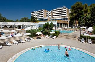 Croatia, Istria, Porec, Hotel Pical