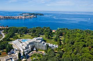 Croatia, Istria, Porec, Hotel Zagreb