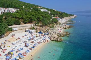 Croatia, Istria, Rabac, Hotel Miramar