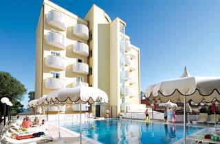 Italy, Northern Adriatic Riviera, Jesolo, Hotel Salus