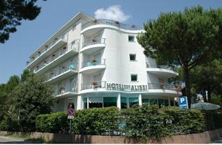 Italy, Northern Adriatic Riviera, Lignano, Hotel Alisei