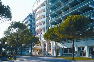 Italy, Northern Adriatic Riviera, Grado, Hotel Astoria