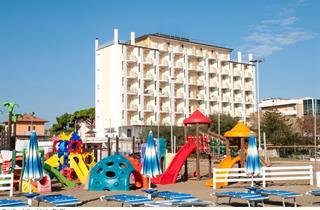 Italy, Central Adriatic Riviera, Ravenna, Hotel Adler