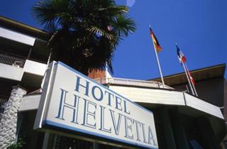 Italy, Northern Adriatic Riviera, Grado, Hotel Helvetia