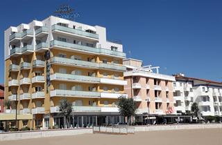 Italy, Northern Adriatic Riviera, Caorle, Hotel Karinzia