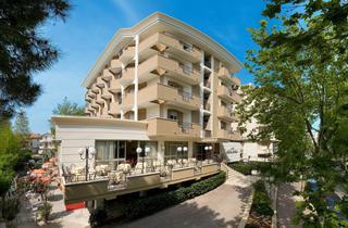 Italy, Central Adriatic Riviera, Cesenatico, Hotel Savoia