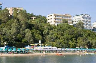 Italy, Central Adriatic Riviera, Gabicce Mare, Hotel Club