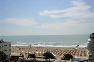 Italy, Northern Adriatic Riviera, Caorle, Hotel Bellevue