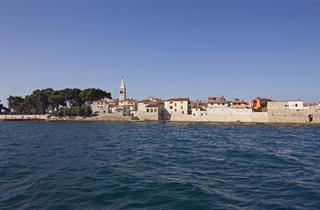 Croatia, Istria, Novigrad Istria, Hotel Nautica